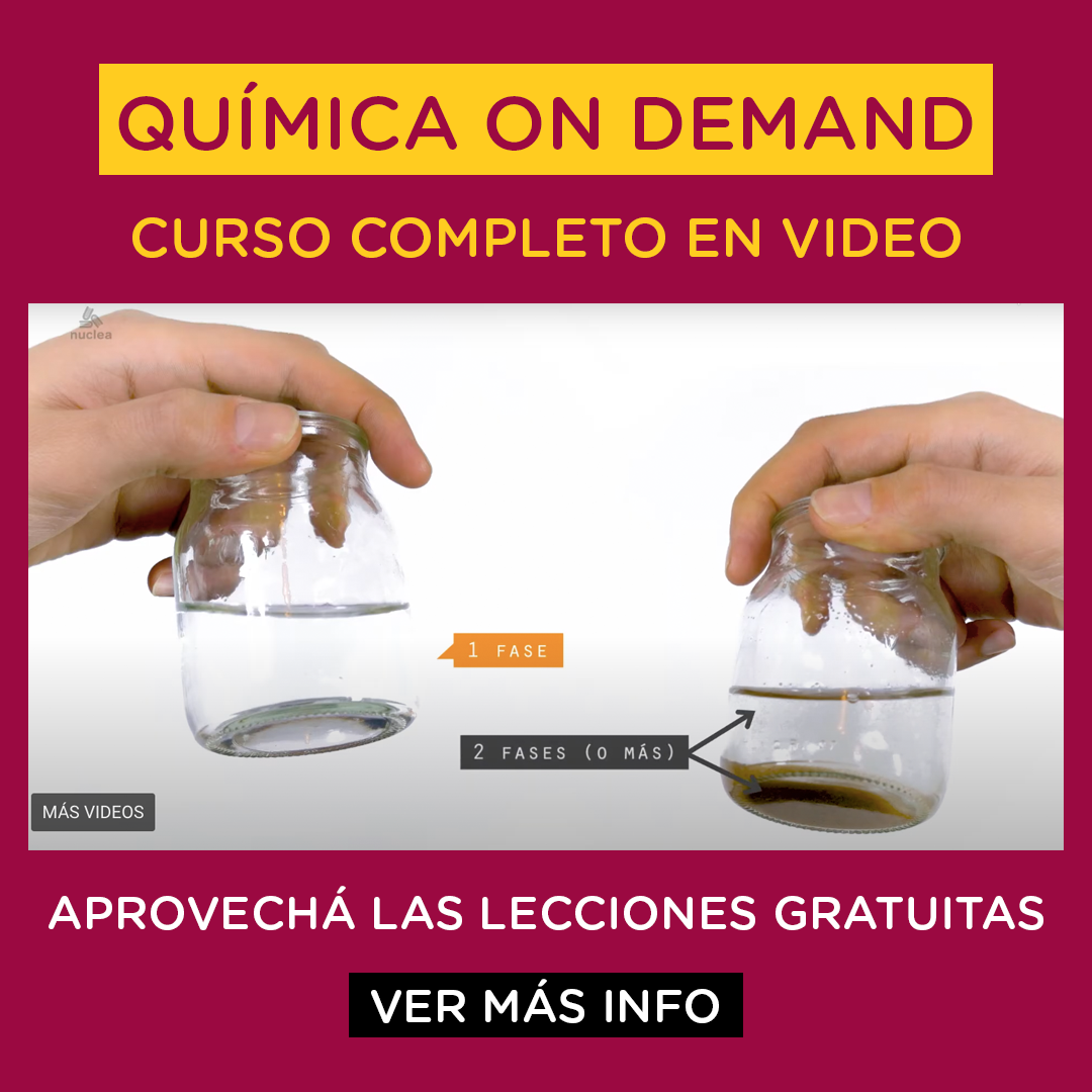 Química CBC on demand: curso completo en video - Aprovechá las lecciones gratuitas