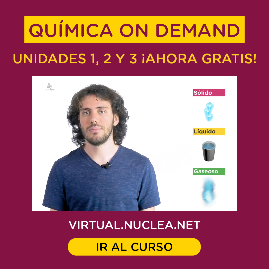Curso on demand Química CBC GRATIS
