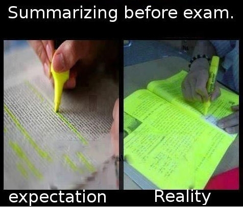 funny-summarizing-yellow-marker-expectation-reality